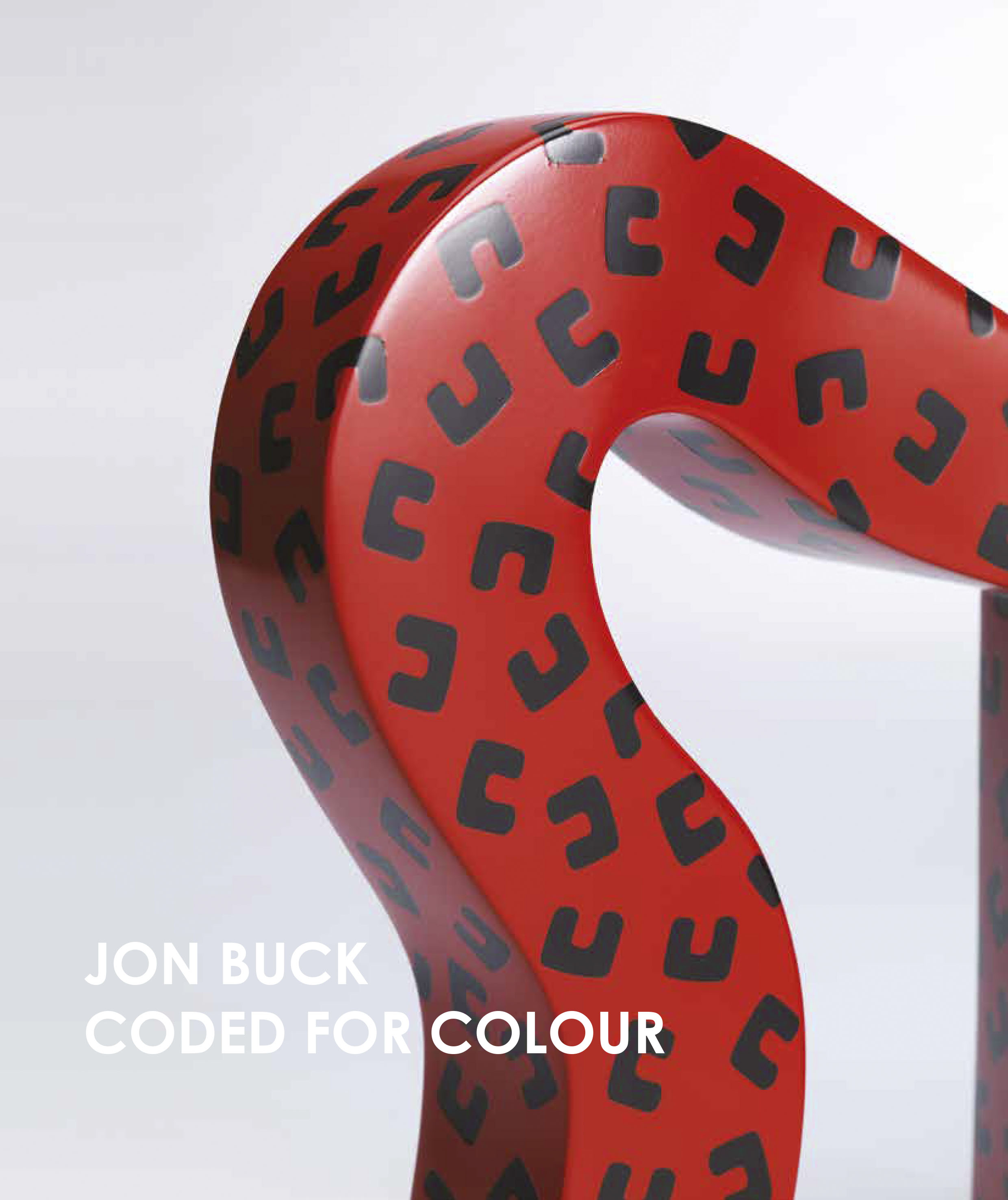 Jon Buck, Coded for Colour Book Cover
