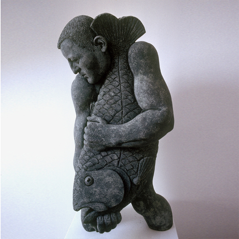 Image: Man and Fish